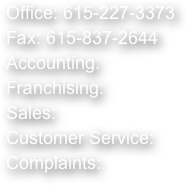 Office: 615-227-3373